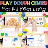 Play Dough Learning Center For All Year Long!