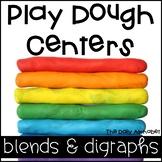 Play Dough Centers Blends & Digraphs
