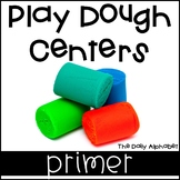 Play Dough Centers Primer Sight Words
