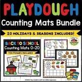 Play Dough Counting Mats 0-10 Bundle