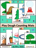 Play Dough Counting Mats 1-10