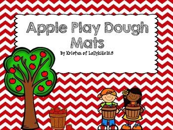 Play Dough Counting Mats