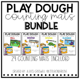 Play Dough Counting Mats Bundle