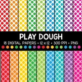 Play Dough Digital Paper