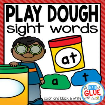 Play Dough Editable Sight Word Activity
