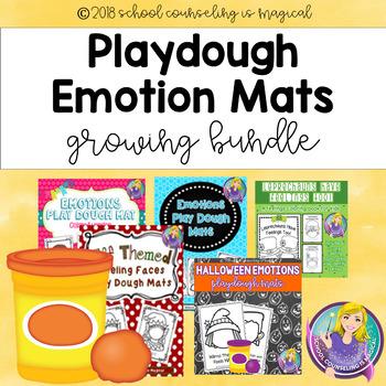 Playdough Emotions Mats Growing Bundle