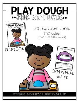 Play Dough Ending Sound Mats