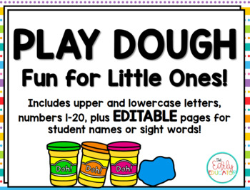 Play Dough Fun for Little Ones!