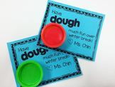 Play-Dough Gift Tag