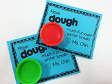 Play-Dough Gift Tag