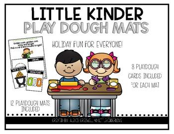 Play Dough Holiday Poem Mats