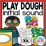 Play Dough Initial Sound Match-Up