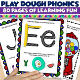 Play Dough Centers - Phonics GROWING Resource! 70 pages!