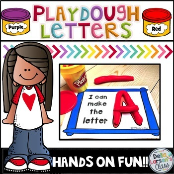 Play Dough Letters