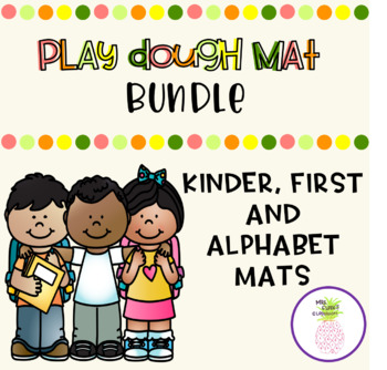 Play Dough Mat Bundle