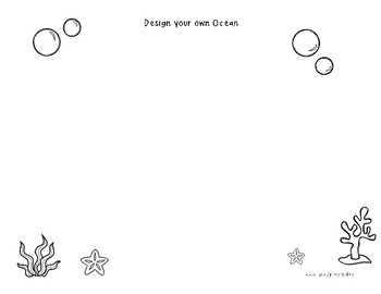 Play-Dough Mat: Design Your Ocean