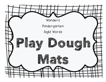 Play Dough Mat FREEBIE