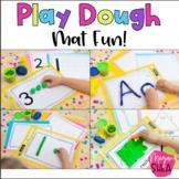 Play Dough Mat Fun! Play Dough Learning Mats