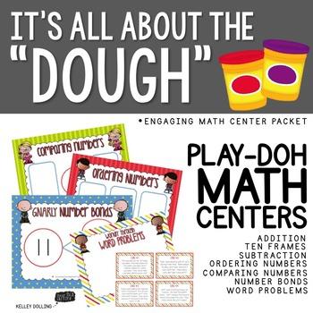 Playdough Math Centers