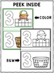 Playdough Mats Numbers