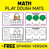 Play Dough Mats - Math Numbers