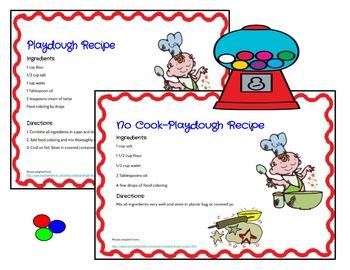 Play Dough Mats-#1-20-BubbleGum Theme ENGLISH Version Lots of Fun!