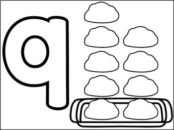 Play Dough Mats {ABC's and 123's}