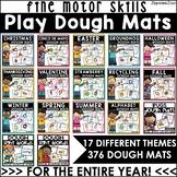 Play Dough Mats BUNDLE for Holidays, Seasons, Alphabet & D