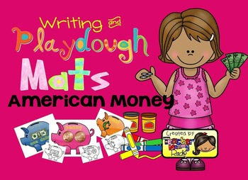 Play Dough Mats - American Money:  Coins and Bills (BW/Colored)