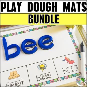 Play Dough Mats Bundle 2