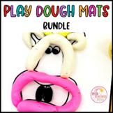 Play Dough Mats Bundle Distance Learning