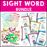 Sight Word Activities Bundle Distance Learning