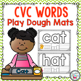 CVC Words Play Dough Mats