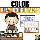 Colors Play Dough Mats