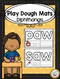 Diphthongs Play Dough Mats