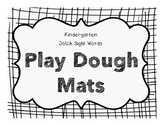 Play Dough Mats - Dolch Version