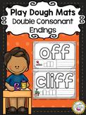 Double Consonant Endings Play Dough Mats