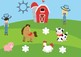Play Dough Mats - Early Language Concepts On The Farm