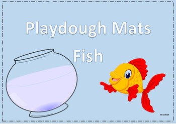 Play Dough Mats - Fish