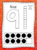 Play Dough Mats (Numbers 0-10)