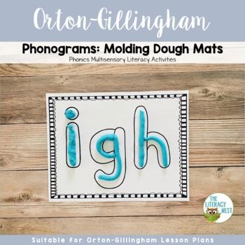 Orton-Gillingham Sound Cards Phonogram Play-Dough Mats