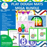 Play Dough Mats Preschool and Kindergarten Bundle