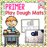 Dolch Sight Words Play Dough Mats - (Primer List)