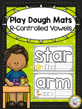 R-Controlled Vowels Play Dough Mats