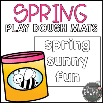 Play Dough Mats: SPRING
