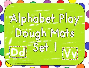 Play Dough Mats Set 1