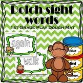 Play Dough Mats Sight Words - 1st Grade