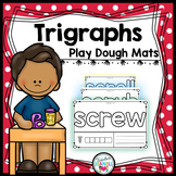 Trigraphs (3 Letter Blends) Play Dough Mats