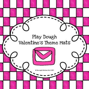 Play Dough Mats (Valentine's Theme)