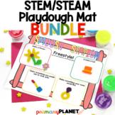 Year Round STEM Playdough Mats   STEM Activities Bundle